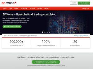 BDSwiss - Piattaforma di trading