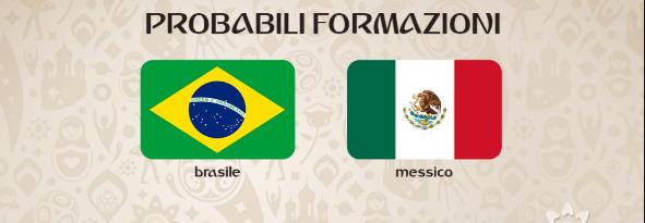 Probabili Formazioni e Statistiche Ottavi di Fiale Mondiali 2 Luglio: Brasile vs. Messico – Belgio vs. Giappone